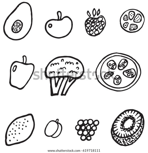 fruit coloring page # 52