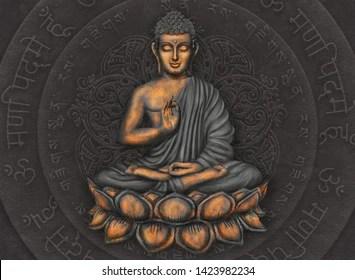 gautama buddha images stock