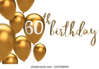 https www shutterstock com image illustration gold happy 60th birthday balloon greeting 1152706094