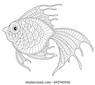 koi fish coloring pages # 53