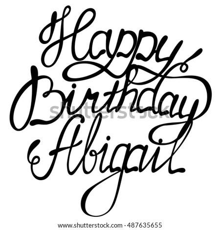 Happy Birthday Schriftzug Zum Kopieren