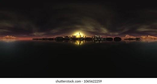 night sky hdri images
