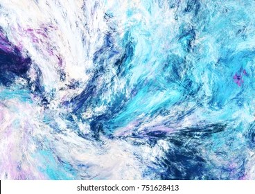 abstract wave painting images