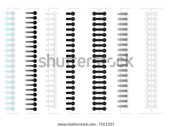 Images Various Sample Ring Binding Spiral Stock