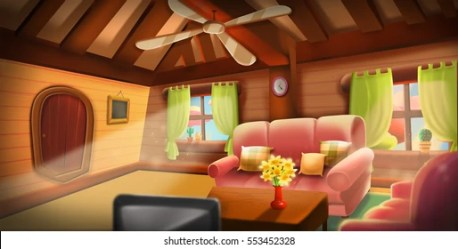 Fairy House Interior Images Stock Photos & Vectors Shutterstock