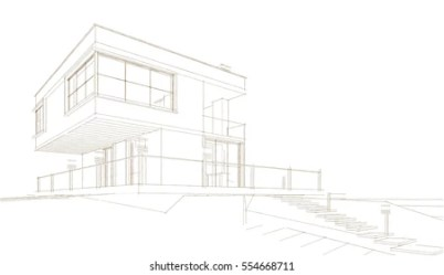 Modern House Draw Images Stock Photos & Vectors Shutterstock