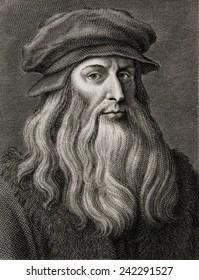portrait of leonardo da