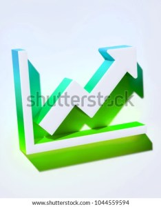 Line chart icon on the aqua wall  illustration of white analytics also royalty free stock rh shutterstock