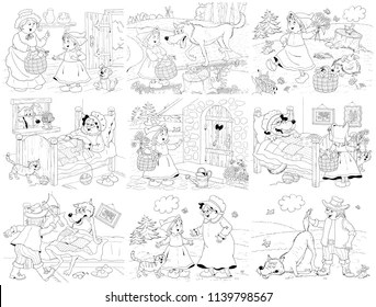 Little Red Riding Hood Images, Stock Photos & Vectors