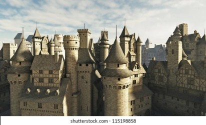 Medieval City Images Stock Photos & Vectors Shutterstock