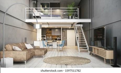 Duplex Apartment Interior Design Ideas