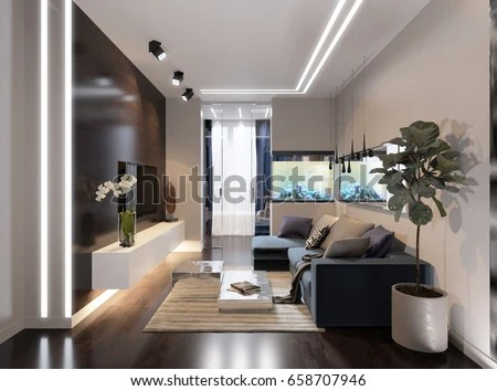contemporary living rooms with fireplaces room remodeling ideas royalty free stock illustration of modern urban hotel interior design gray beige walls fireplace aquarium