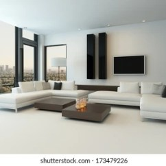 Modern White Furniture For Living Room Curtains Kohls Images Stock Photos Vectors Shutterstock With Wooden