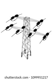 Overhead Power Line Images, Stock Photos & Vectors