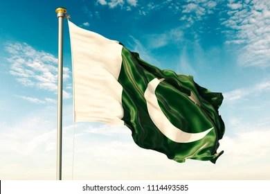 pakistani flag images stock