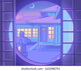 Anime Night Images Stock Photos & Vectors Shutterstock