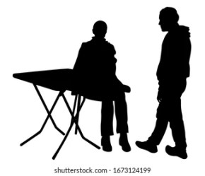 Silhouettes People Restaurant Images Stock Photos & Vectors Shutterstock