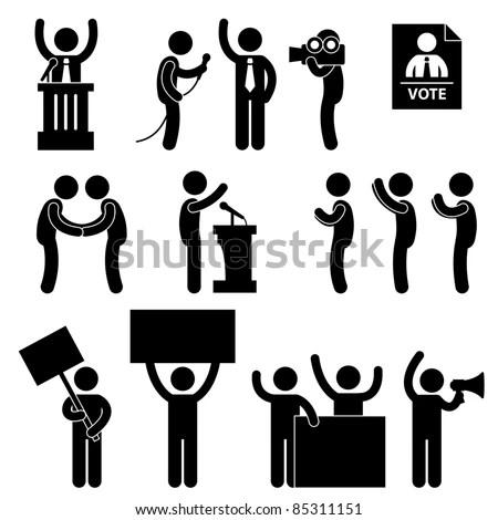 Politic Politician Reporter Journalist Vote Speech