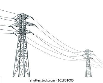 Transmission Lines Images, Stock Photos & Vectors