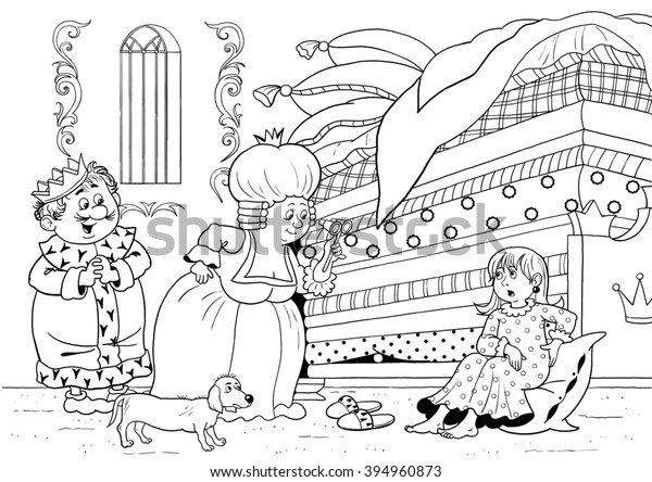 coloring pages kids fairy tale king queen # 9