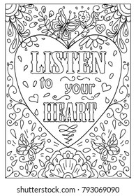 Adult Coloring Pages Images, Stock Photos & Vectors
