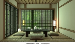 japanese tea rooms shutterstock
