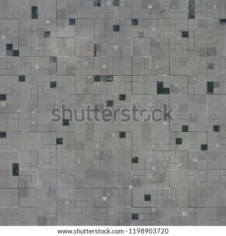 Scifi Tileable Seamless Texture Abstract Science Stock