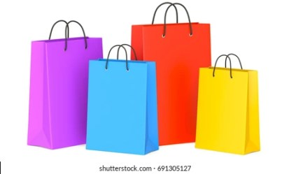 Shopping Bags Png Images Stock Photos & Vectors Shutterstock