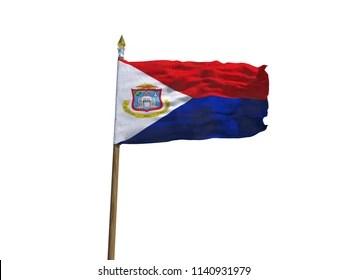 sint maarten flag images
