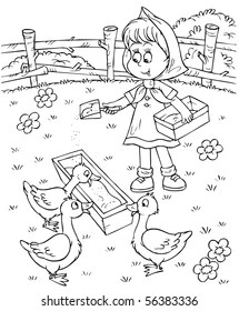 Farm Animal Black And White Clipart - Clipart Suggest
