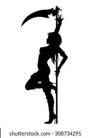 Silhouette Grim Reaper Images, Stock Photos & Vectors
