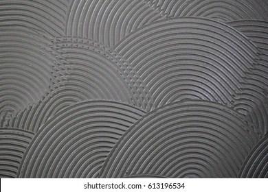 https www shutterstock com image illustration tile adhesive notched trowel patterns background 613196534