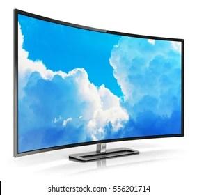 tv blank screen stock
