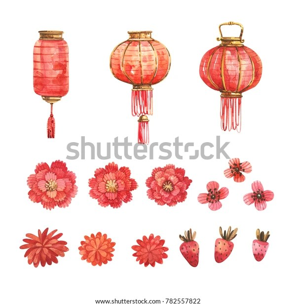watercolor set traditional chinese