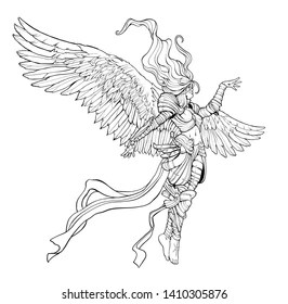 angel armor images stock