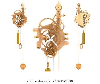 antique grandfather clock images