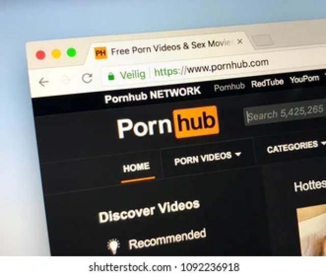 Amsterdam Netherlands May 16 2018 Official Homepage Of Pornhub Com
