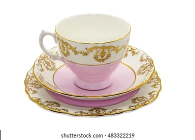 cup plate images stock
