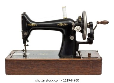 sewing machine images stock