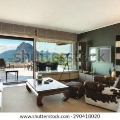 Veranda Living Rooms Mens Room Ideas Architecture Penthouse View Stock Photo Edit Of A From