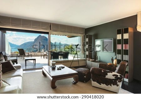 veranda living rooms home decor color ideas for room architecture penthouse view stock photo edit of a from