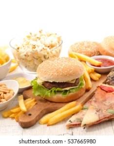 Assorted junk food also images stock photos  vectors shutterstock rh