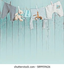 baby clothes line images