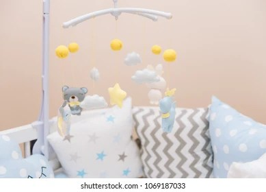 baby crib mobile images