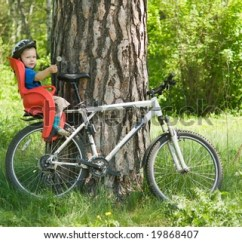 The Bike Chair Patio Furniture Swivel Set Baby On Bicycle Stock Photo Edit Now 19868407 Shutterstock In