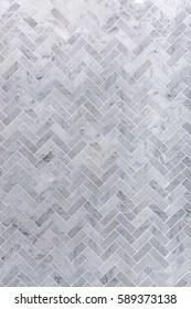 https www shutterstock com image photo background grey white marble tile herringbone 589373138