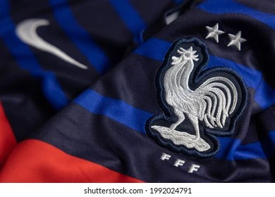 Founded in 1920 as the american professional football association, the national football league has spent the last century amassing a handful of t. France Football Jersey Images Stock Photos Vectors Shutterstock