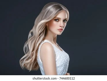 blonde woman images stock