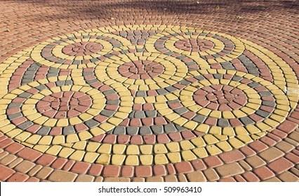 https www shutterstock com image photo beautiful circular pattern tiled 509963410