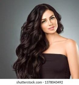 glamour model hair images